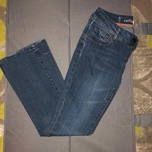 Refuge flare leg jeans size 3 short
